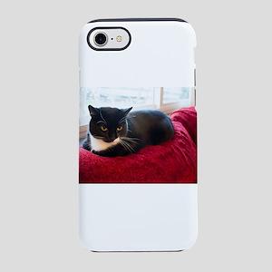 Tuxedo Cat iPhone 8/7 Tough Case