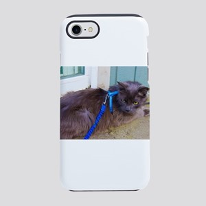 Leashed Blue iPhone 8/7 Tough Case