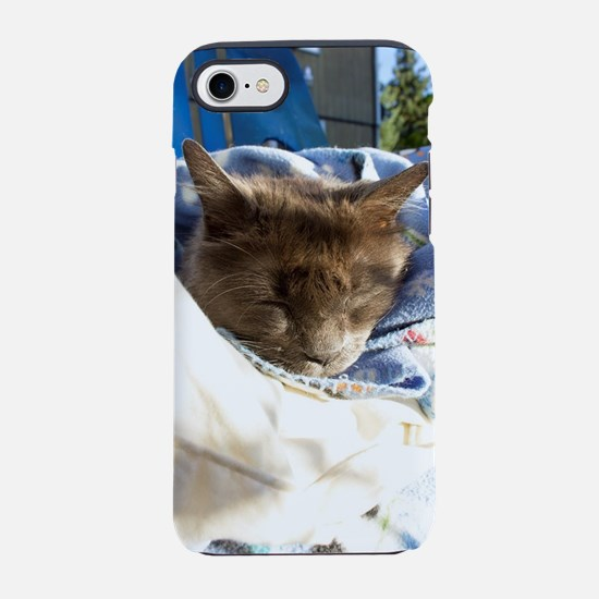 Snuggly Nap iPhone 8/7 Tough Case
