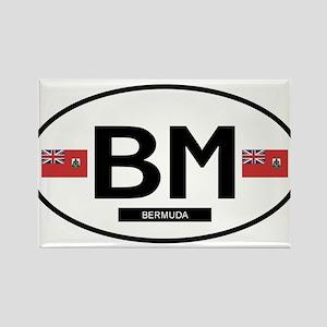 Bermuda 2F Rectangle Magnet