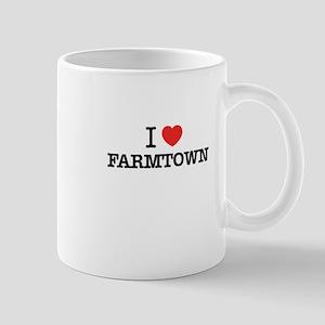 I Love FARMTOWN Mugs