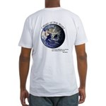 Fitted T-Shirt - Citizen of the World (WVP Logo)