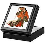 Medieval Japanese Court Lady Keepsake Box