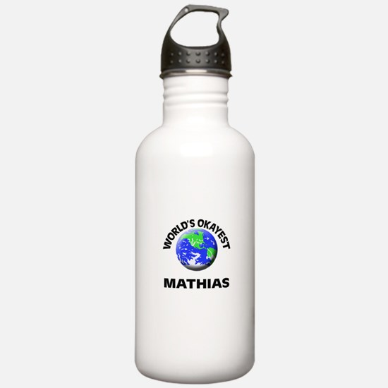 World's Okayest Mathia Water Bottle