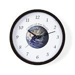 Citizen of the World Wall Clock