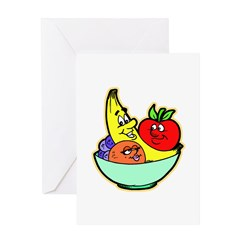 Fruit Friends Greeting Card