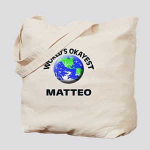 World's Okayest Matteo Tote Bag
