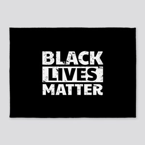 Black Lives Matter 5'x7'Area Rug