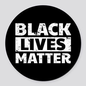 Black Lives Matter Round Car Magnet