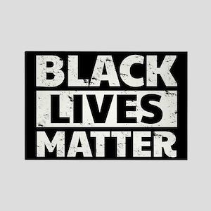 Black Lives Matter Rectangle Magnet