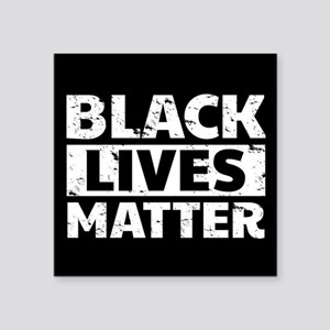 "Black Lives Matter Square Sticker 3"" x 3"""