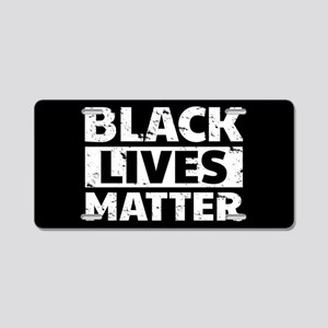 Black Lives Matter Aluminum License Plate