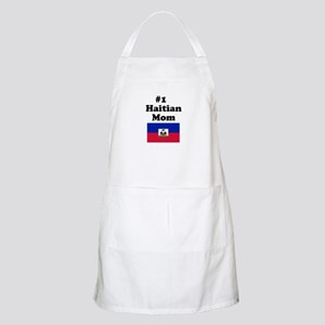 #1 Haitian Mom BBQ Apron