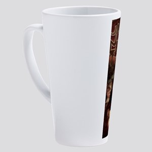 La Chola Mona Lisa 17 oz Latte Mug