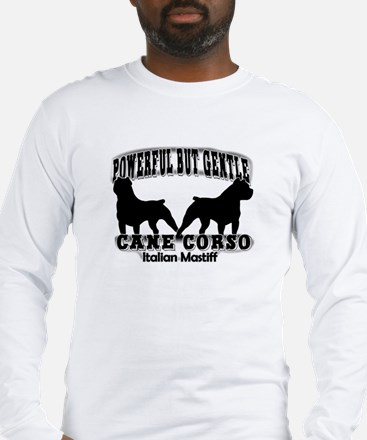 Powerful Cane Corso Long Sleeve T-Shirt