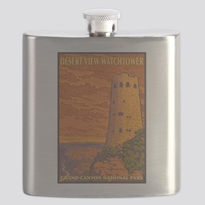 Grand Canyon - Desert View Watchtower Flask
