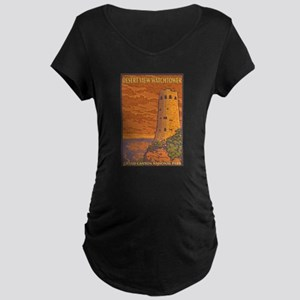 Grand Canyon - Desert View Watchtower Maternity T-
