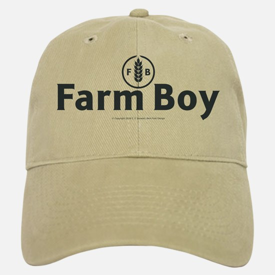 Farm Boy Baseball Baseball Cap