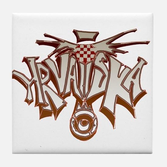Hrvatska Tile Coaster