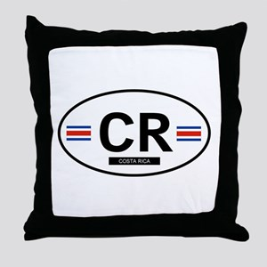 Costa Rica 2F Throw Pillow