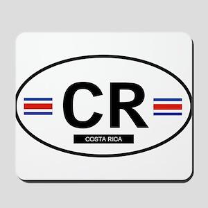 Costa Rica 2F Mousepad