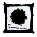 Earth is Full of Things Throw Pillow