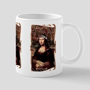La Chola Mona Lisa Mugs