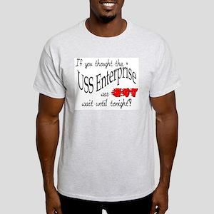 USS Enterprise was hot ver3 Light T-Shirt