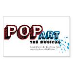 POPart Rectangle Sticker