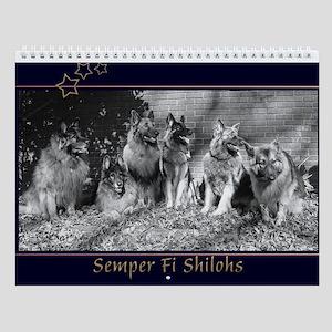 2018 Semper Fi Shilohs Wall Calendar