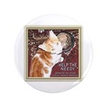 """Help the needy 3.5"""" Button (100 pack)"""