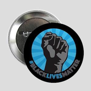 """Black Lives Matter Fist 2.25"""" Button"""