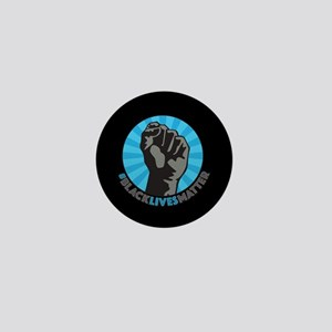 Black Lives Matter Fist Mini Button