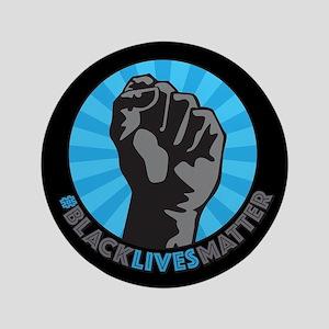 Black Lives Matter Fist Button