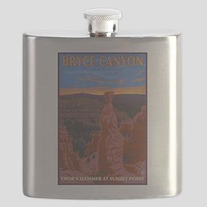 Bryce Canyon, Utah - Thor's Hammer Flask