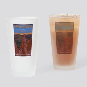 Bryce Canyon, Utah - Thor's Hammer Drinking Glass