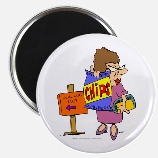 Social Work Party Magnets (10 pack)