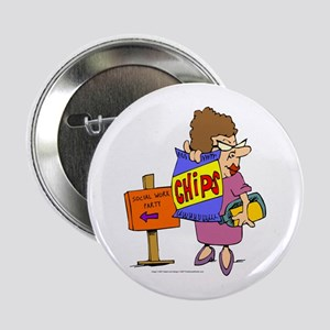 Social Work Party Button