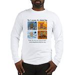 4 Seasons of Chained Dog Long Sleeve T-Shirt