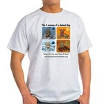 4 Seasons of Chained Dog Light T-Shirt