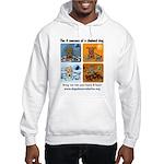 4 Seasons of Chained Dog Hooded Sweatshirt
