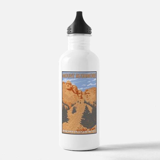 Mt Rushmore National Park, South Dakota Water Bott