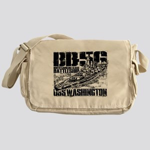 Battleship Washington Messenger Bag