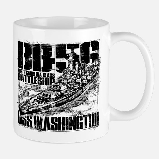 Battleship Washington Mugs