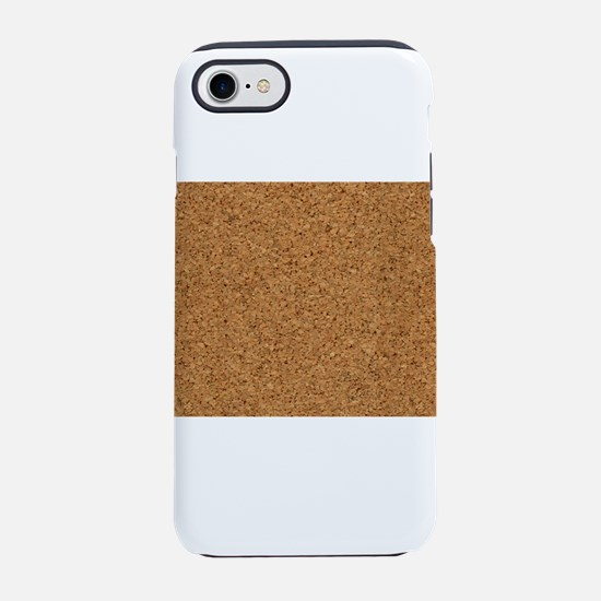 Faux Cork Textured Extravaga iPhone 8/7 Tough Case