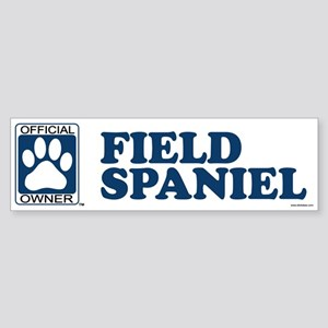 FIELD SPANIEL Bumper Sticker