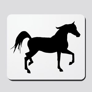 Arabian Horse Silhouette Mousepad