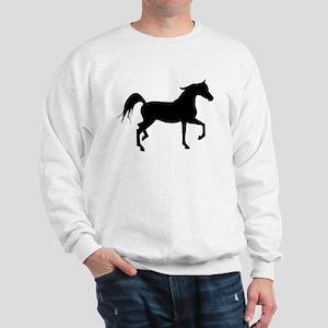 Arabian Horse Silhouette Sweatshirt