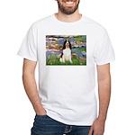 Lilies / Eng Spring White T-Shirt