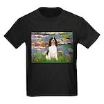 Lilies / Eng Spring Kids Dark T-Shirt